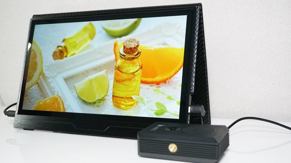 Raspberry Pi4 model Bで静止画スライドショー&動画のループ再生
